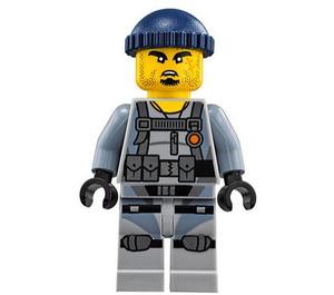 LEGO Army Gunner Shark 'Charlie' Minifigure