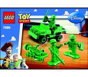 LEGO Army Men on Patrol Set 7595 Instructions
