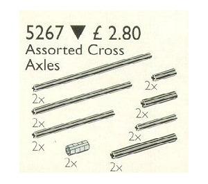 LEGO Assorted Cross Axles Set 5267