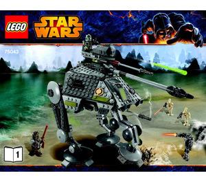 LEGO AT-AP Set 75043 Instructions