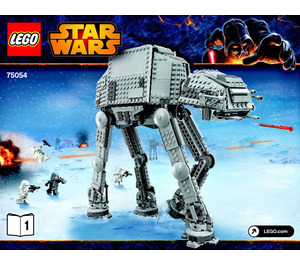LEGO AT-AT Set 75054 Instructions