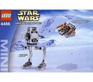 LEGO AT-ST & Snowspeeder Set 4486