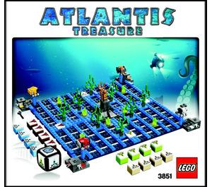 LEGO Atlantis Treasure (3851) Instructions