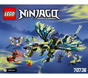 LEGO Attack of the Morro Dragon Set 70736 Instructions