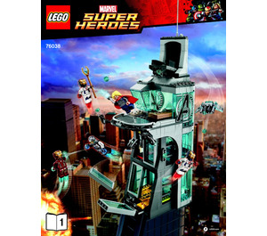 LEGO Attack on Avengers Tower Set 76038 Instructions