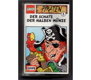 LEGO Audio Tape Pirates 'Der Schatz der halben Münze' (German) (495843215)