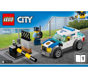 LEGO Auto Transport Heist Set 60143 Instructions