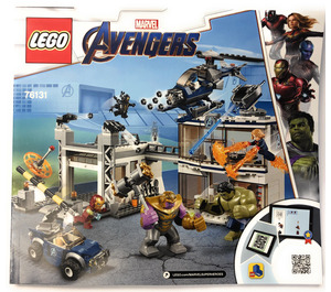 LEGO Avengers Compound Battle Set 76131 Instructions