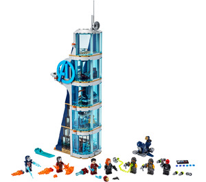 LEGO Avengers Tower Battle Set 76166