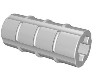 LEGO Axle Connector (Ridged with '+' Hole) (6538)