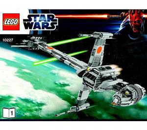 LEGO B-Wing Starfighter Set 10227 Instructions