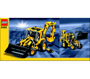 LEGO Back-Hoe Set 8455 Instructions