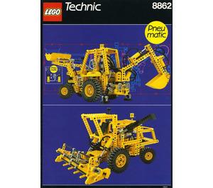 LEGO Backhoe Grader Set 8862