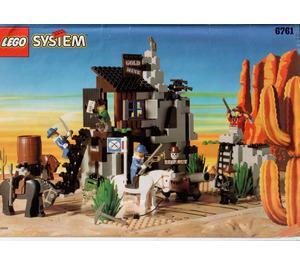 LEGO Bandit's Secret Hide-Out Set 6761 Instructions