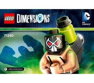 LEGO Bane Fun Pack Set 71240 Instructions