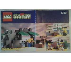 LEGO Barnacle Bay Value Pack Set 1729-1 Instructions
