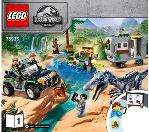 LEGO Baryonyx Face-Off: The Treasure Hunt Set 75935 Instructions