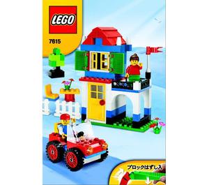 LEGO Basic Blue Bucket Set 7615