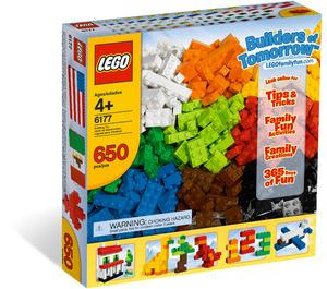 LEGO Basic Bricks Deluxe Set 6177 Packaging