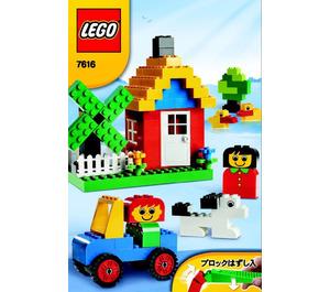 LEGO Basic Red Bucket Set 7616