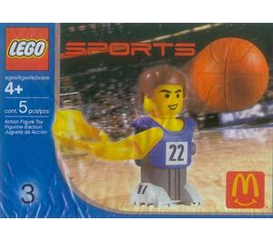 LEGO Basketball Player, Blue Set 7917