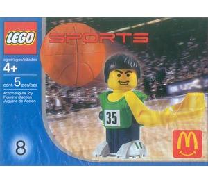 LEGO Basketball Player, Green Set 7918