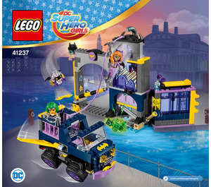 LEGO Batgirl Secret Bunker Set 41237 Instructions