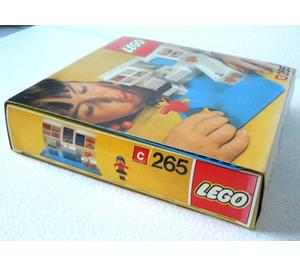 LEGO Bathroom Set 265-1 Packaging