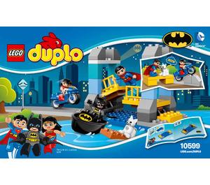 LEGO Batman Adventure Set 10599 Instructions