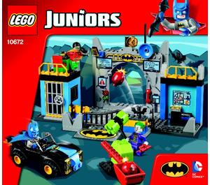 LEGO Batman – Batcave Set 10672 Instructions