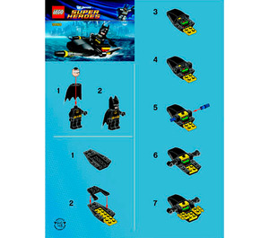 LEGO Batman Jetski Set 30160 Instructions
