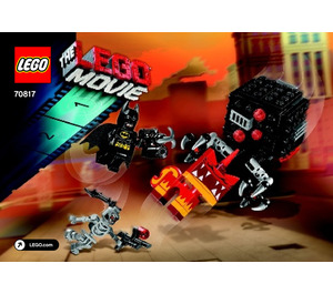 LEGO Batman & Super Angry Kitty Attack Set 70817 Instructions