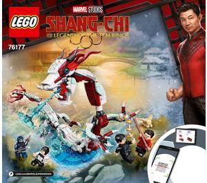 LEGO Battle at the Ancient Village Set 76177 Instructions
