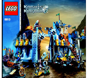 LEGO Battle at the Pass Set 8813 Instructions