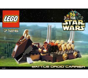 LEGO Battle Droid Carrier Set 7126