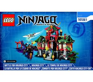 LEGO Battle for Ninjago City Set 70728 Instructions