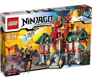 LEGO Battle for Ninjago City Set 70728 Packaging