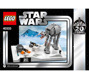 LEGO Battle of Hoth - 20th Anniversary Edition Set 40333 Instructions