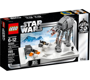 LEGO Battle of Hoth - 20th Anniversary Edition Set 40333 Packaging