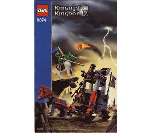 LEGO Battle Wagon Set 8874 Instructions
