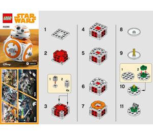 LEGO BB-8 Set 40288 Instructions