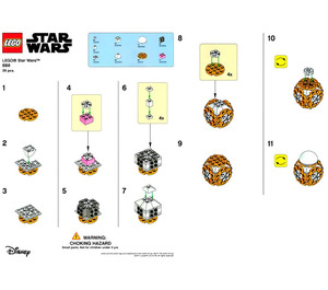 LEGO BB 8 Toys R Us In Store Promotion Set TRUBB8 Instructions