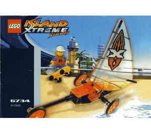 LEGO Beach Cruisers Set 6734 Instructions