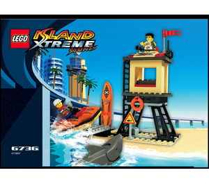 LEGO Beach Lookout Set 6736 Instructions