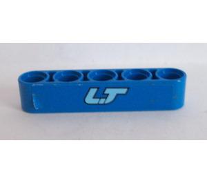 LEGO Beam 5 with 'LT' Sticker (32316)