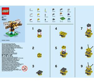 LEGO Bee Set 40211 Instructions