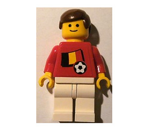 LEGO Belgian Football Player with Standard Grin with Stickers Minifigure