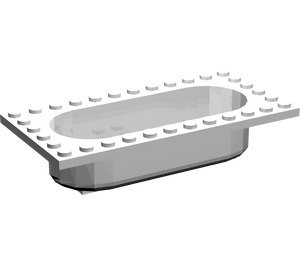 LEGO Belville Bathtub 6 x 12 (30018)