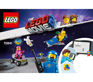 LEGO Benny's Space Squad Set 70841 Instructions