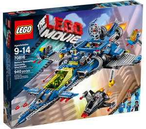 LEGO Benny's Spaceship Set 70816 Packaging